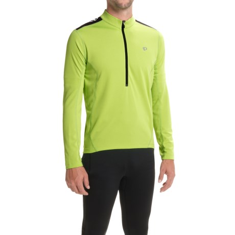 f22a30819 Pearl Izumi Quest Cycling Jersey - Long Sleeve (For Men) in Citron
