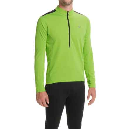 Pearl Izumi Quest Cycling Jersey - Long Sleeve (For Men) in Green Flash 15 - Closeouts