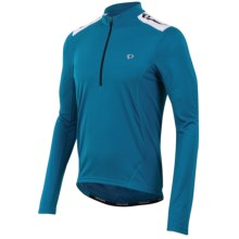 Pearl Izumi Quest Cycling Jersey - Long Sleeve (For Men) in Mykonos Blue - Closeouts