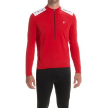 Pearl Izumi Quest Cycling Jersey - Long Sleeve (For Men) in Red/White - Closeouts