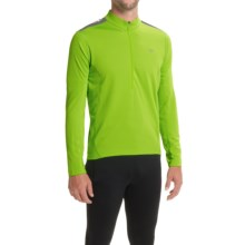 Pearl Izumi Quest Cycling Jersey - Long Sleeve (For Men) in Screaming Yellow - Closeouts