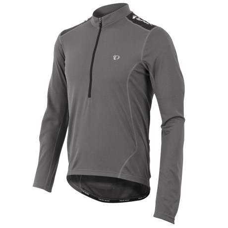 Pearl Izumi Quest Cycling Jersey - Long Sleeve (For Men) in Shadow Grey