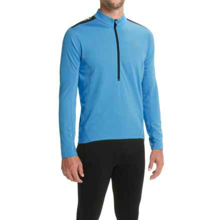 Pearl Izumi Quest Cycling Jersey - Long Sleeve (For Men) in Sky Blue - Closeouts