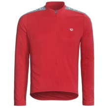 Pearl Izumi Quest Cycling Jersey - Long Sleeve (For Men) in True Red - Closeouts