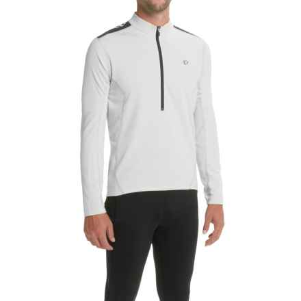 Pearl Izumi Quest Cycling Jersey - Long Sleeve (For Men) in White/Black - Closeouts