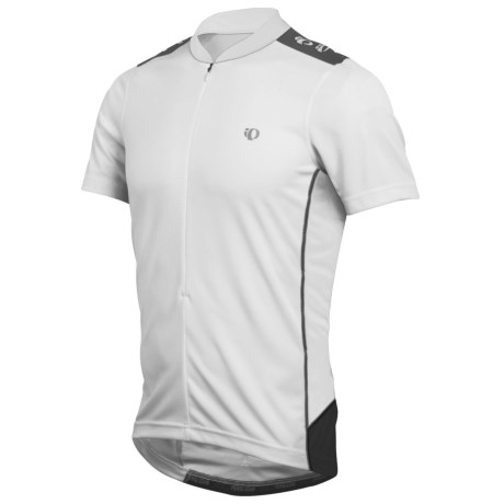Pearl Izumi Quest Cycling Jersey - Neck Zip, Short Sleeve (For Men) in White