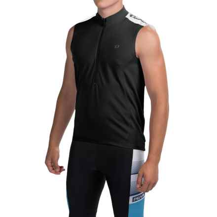 Pearl Izumi Quest Cycling Jersey - Sleeveless (For Men) in Black/Black - Closeouts