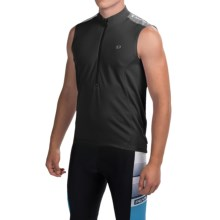 Pearl Izumi Quest Cycling Jersey - Sleeveless (For Men) in Black - Closeouts