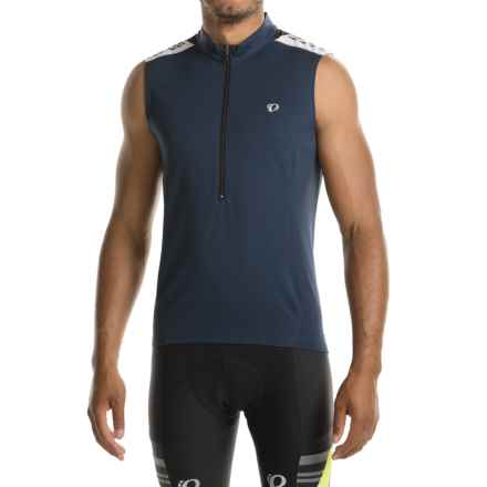 Pearl Izumi Quest Cycling Jersey - Sleeveless (For Men) in Eclipse Blue - Closeouts