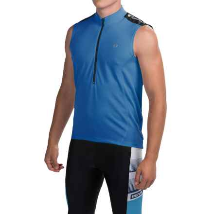 Pearl Izumi Quest Cycling Jersey - Sleeveless (For Men) in Sky Blue - Closeouts
