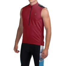 Pearl Izumi Quest Cycling Jersey - Sleeveless (For Men) in Tibetan Red - Closeouts