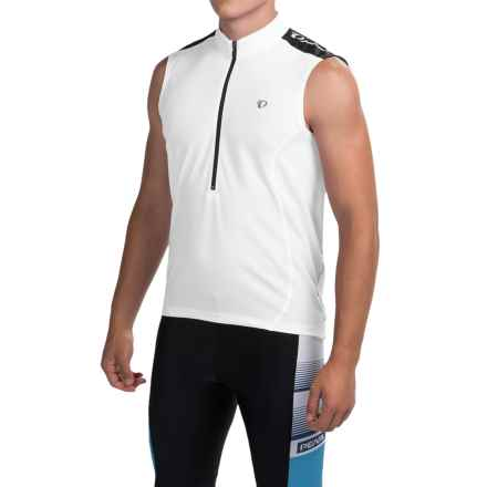 Pearl Izumi Quest Cycling Jersey - Sleeveless (For Men) in White - Closeouts