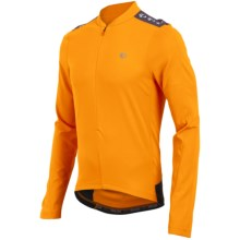 Pearl Izumi Quest Cycling Jersey - Zip Neck, Long Sleeve (For Men) in Safety Orange - Closeouts