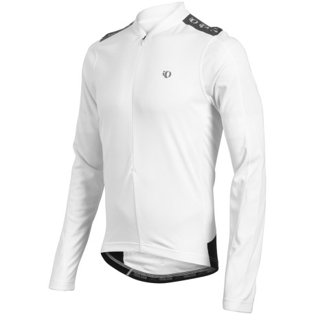 Pearl Izumi Quest Cycling Jersey - Zip Neck, Long Sleeve (For Men) in White
