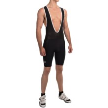 Pearl Izumi Quest Splice Bib Shorts (For Men) in Black/White - Closeouts