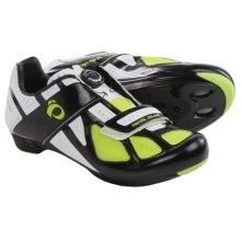 Pearl Izumi Race RD III Cycling Shoes - BOA®, 3-Hole, SPD (For Men) in Black/White - Closeouts