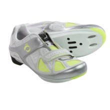Pearl Izumi Race RD III Cycling Shoes - BOA®, 3-Hole, SPD (For Women) in White/Silver - Closeouts