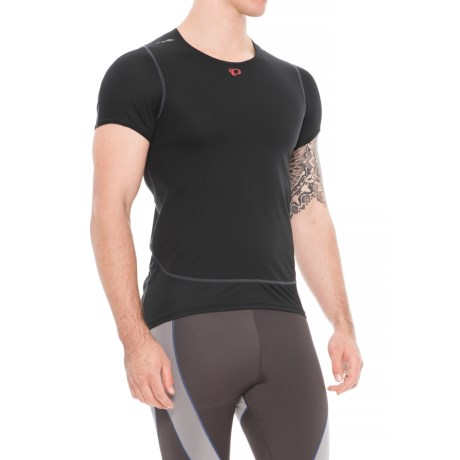 Pearl Izumi Ride Barrier Base Layer Top - Short Sleeve (For Men) in Black