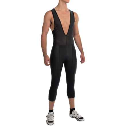 Pearl Izumi SELECT Attack 3/4 Bib Tights (For Men) in Black/Black - Closeouts