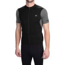 Pearl Izumi SELECT Attack Cycling Jersey - Full Zip, Short Sleeve (For Men) in Black/Black - Closeouts