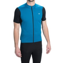 Pearl Izumi SELECT Attack Cycling Jersey - Full Zip, Short Sleeve (For Men) in Mykonos Blue/Black - Closeouts