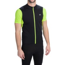 Pearl Izumi SELECT Attack Cycling Jersey - Full Zip, Short Sleeve (For Men) in Screaming Yellow - Closeouts