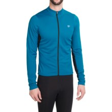 Pearl Izumi SELECT Attack Cycling Jersey - Long Sleeve (For Men) in Mykonos Blue/Black - Closeouts