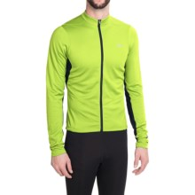 Pearl Izumi SELECT Attack Cycling Jersey - Long Sleeve (For Men) in Screaming Yellow - Closeouts