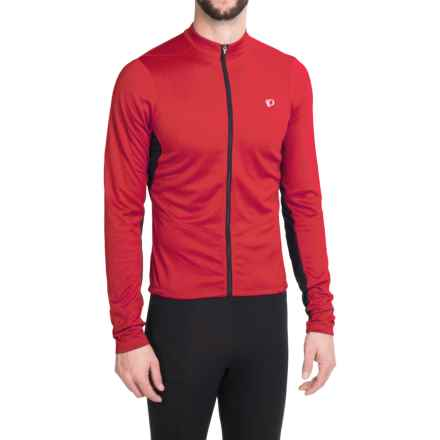 Pearl Izumi SELECT Attack Cycling Jersey - Long Sleeve (For Men) in True Red - Closeouts