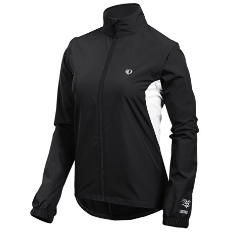 Pearl Izumi Select Barrier Convertible Jacket (For Women) in Black