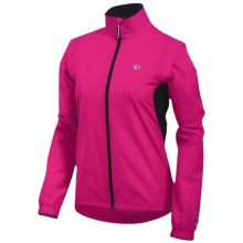 Pearl Izumi Select Barrier Convertible Jacket (For Women) in Pink Punch - Closeouts