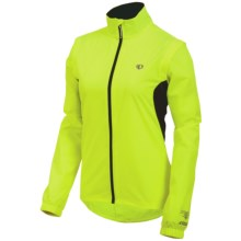 Pearl Izumi Select Barrier Convertible Jacket (For Women) in Screaming Yellow - Closeouts