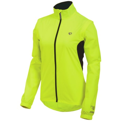 Pearl Izumi Select Barrier Convertible Jacket (For Women) in Screaming Yellow