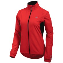 Pearl Izumi Select Barrier Convertible Jacket (For Women) in True Red - Closeouts
