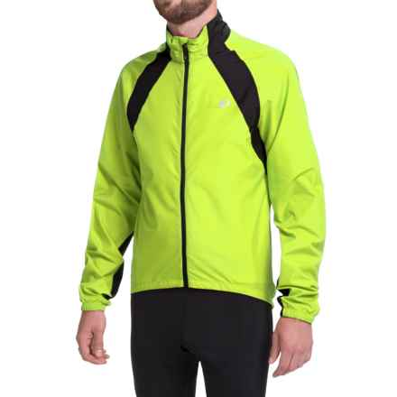 Pearl Izumi SELECT Barrier Jacket (For Men) in Screaming Yellow/Black - Closeouts