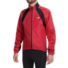 Pearl Izumi SELECT Barrier Jacket (For Men) in True Red/Black - Closeouts