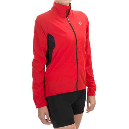 Pearl Izumi SELECT Barrier Jacket (For Women) in True Red - Closeouts