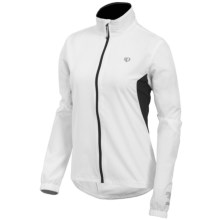 Pearl Izumi Select Barrier Jacket - Water Resistant (For Women) in White - Closeouts