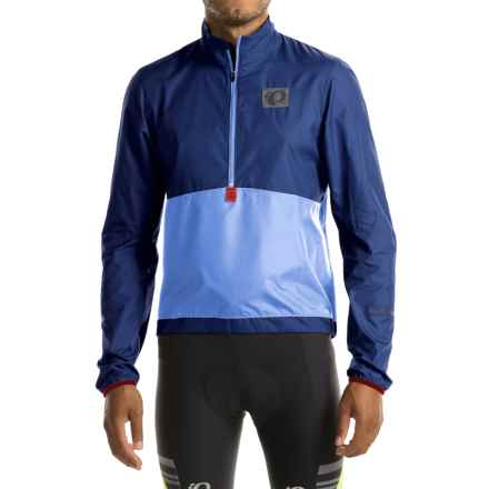 Pearl Izumi SELECT Barrier Lite Jacket - Zip Neck (For Men) in Blue X 2 - Closeouts