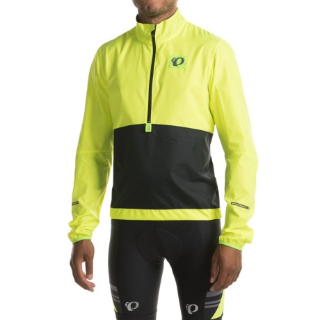 Pearl Izumi SELECT Barrier Lite Jacket - Zip Neck (For Men) in Screaming Yellow/Black