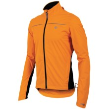 Pearl Izumi Select Barrier WXB Jacket - Waterproof (For Men) in 3Nl Safety Orange/Black - Closeouts