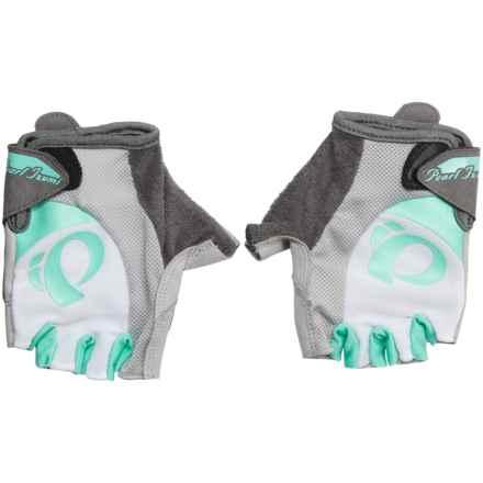 Pearl Izumi Select Bike Gloves - Fingerless (For Women) in White/Aqua Mint - Closeouts