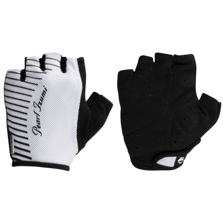 Pearl Izumi SELECT Cycling Gloves - Fingerless (For Women) in White/Black
