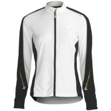 Pearl Izumi Select Cycling Jersey - Full Zip, Long Sleeve (For Women) in White - Closeouts