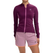 Pearl Izumi SELECT Cycling Jersey - Long Sleeve (For Women) in Dark Purple - Closeouts