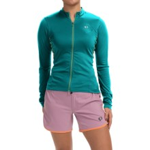 Pearl Izumi SELECT Cycling Jersey - Long Sleeve (For Women) in Deep Lake - Closeouts