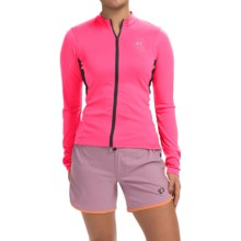 Pearl Izumi SELECT Cycling Jersey - Long Sleeve (For Women) in Screaming Pink - Closeouts