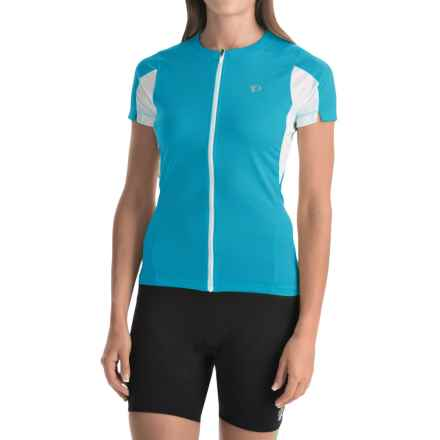Pearl Izumi SELECT Cycling Jersey - UPF 50+, Short Sleeve (For Women) in Blue Atoll - Closeouts