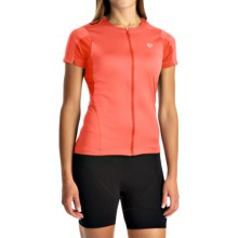 Pearl Izumi SELECT Cycling Jersey - UPF 50+, Short Sleeve (For Women) in Living Coral - Closeouts