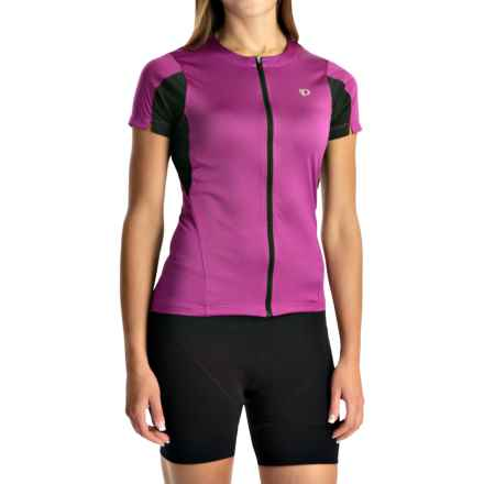 Pearl Izumi SELECT Cycling Jersey - UPF 50+, Short Sleeve (For Women) in Purple Wine - Closeouts